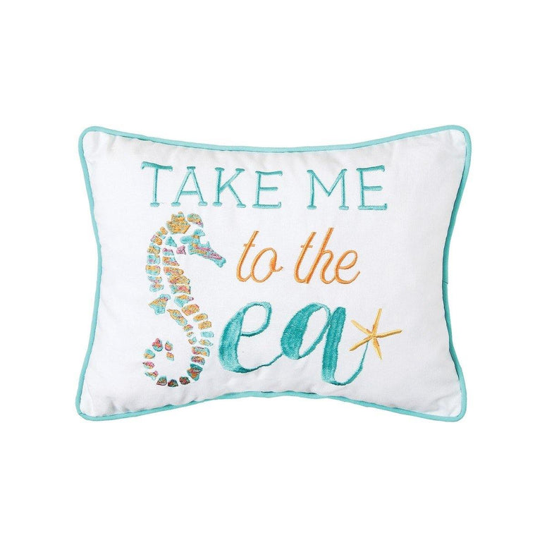 Take Me To The Sea - Pillow
