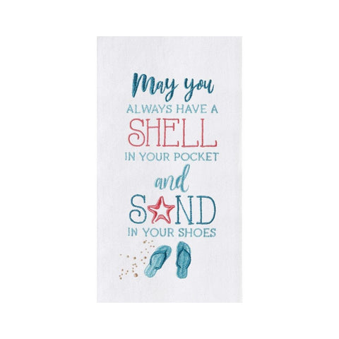 Shell In Your Pocket Towel