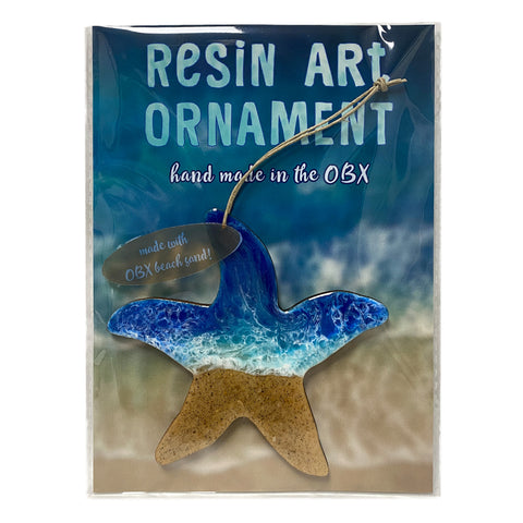 Resin Art Ornaments - Starfish