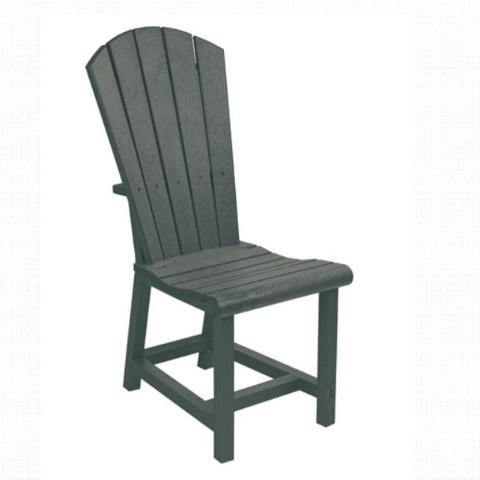 Addy Dining Side Chair, Slate Grey