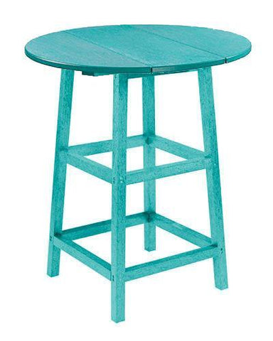 Pub Table, Turquoise