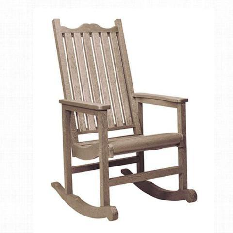 Porch Rocker, Beige