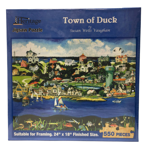 Town of Duck - Jigsaw Puzzle