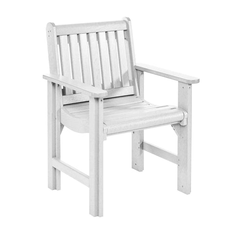Dining Arm Chair, White
