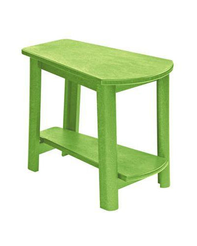 Addy Side Table, Kiwi Green