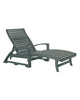 St. Tropez Chaise Lounge, Slate Grey