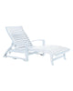St. Tropez Chaise Lounge, White