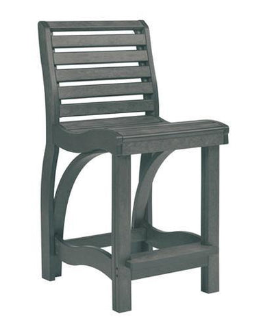 Counter Chair, Slate Grey