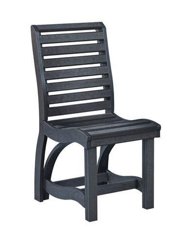 Dining Side Chair, Black
