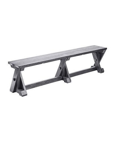 Dining Table Bench, Slate Grey