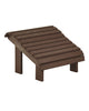 Premium Footstool, Chocolate