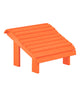 Premium Footstool, Orange