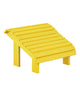 Premium Footstool, Yellow