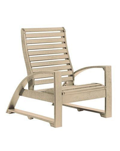 Lounge Chair, Beige