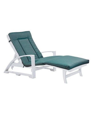 Chaise Lounge Cushion, Cast Breeze