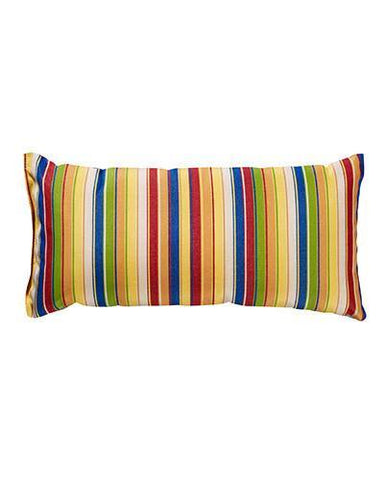 Lumbar Pillow, Bright Stripe