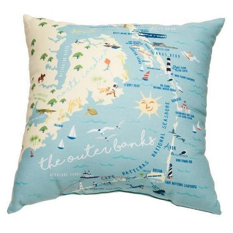 Outer Banks Pillow