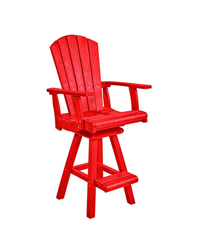 Pub Chair, Red