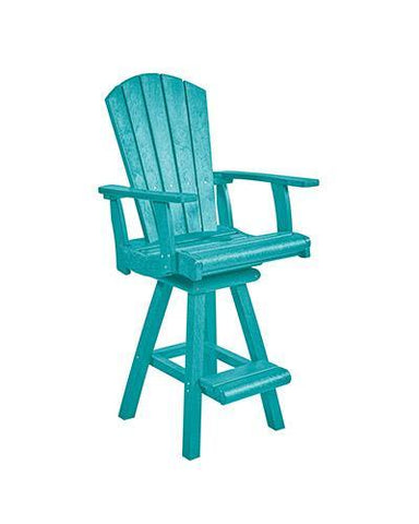 Pub Chair, Turquoise