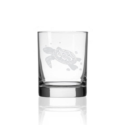 Sea Turtle Glass 14oz