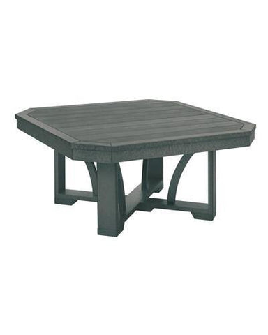 Square Cocktail Table, Slate Grey