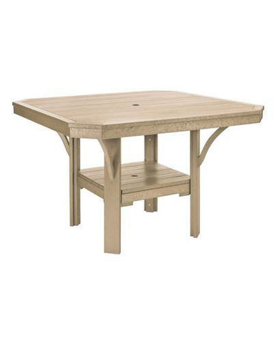 Square Dining Table, Beige