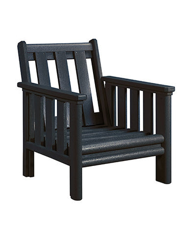 Stratford Chair Frame, Black