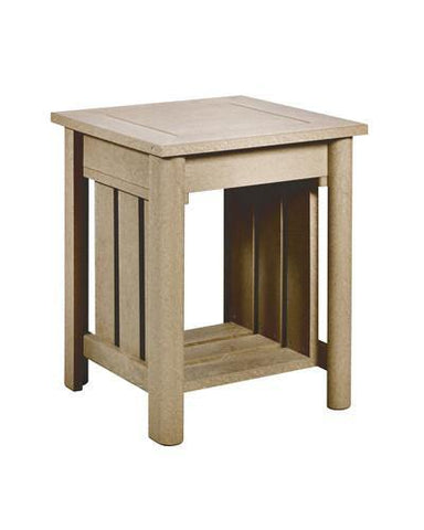 Addy Side Table, Beige
