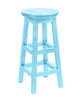 Swivel Bar Stool, Aqua