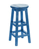 Swivel Bar Stool, Blue