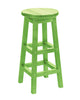 Swivel Bar Stool, Kiwi Green