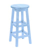 Swivel Bar Stool, Sky Blue