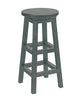 Swivel Bar Stool, Slate Grey