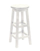 Swivel Bar Stool, White