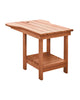 Tete-A-Tete Table, Cedar