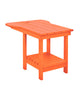 Tete-A-Tete Table, Orange