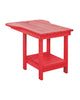 Tete-A-Tete Table, Red