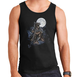 Alchemy Chained Werewolf Men's Vest - POD66