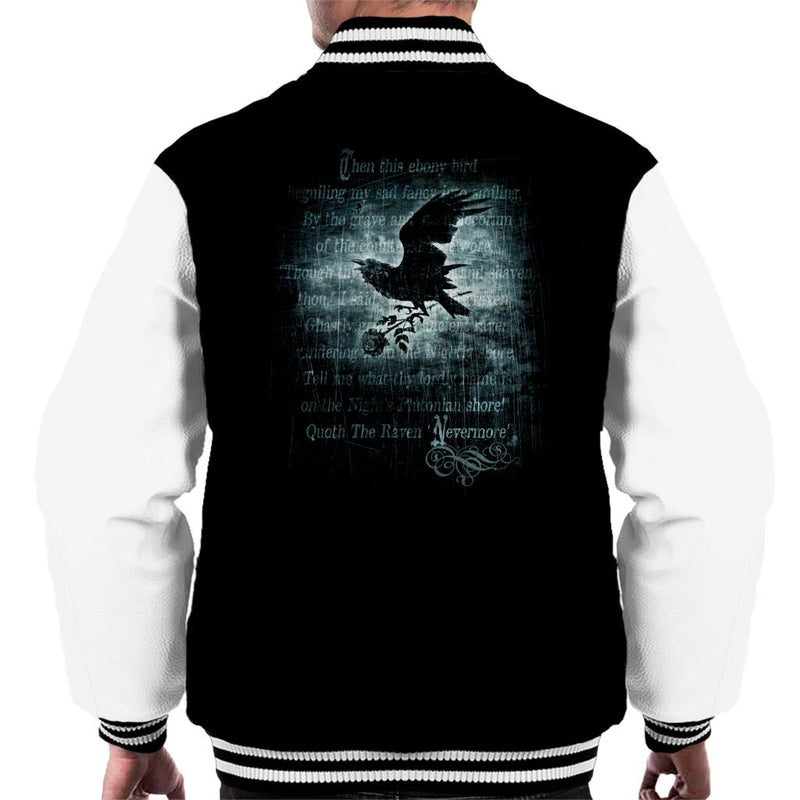 Alchemy Nevermore Men's Varsity Jacket - POD66