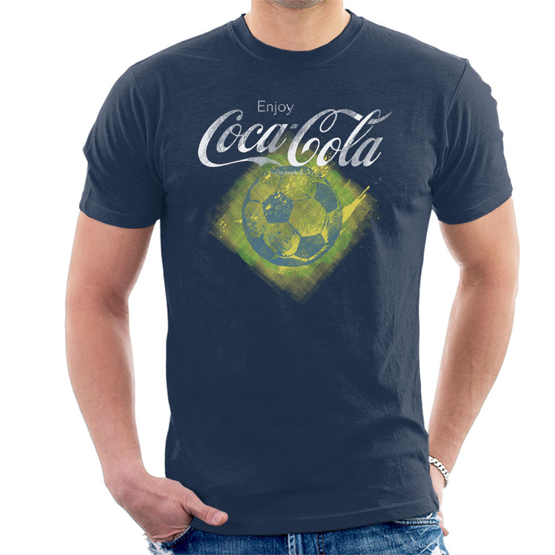 Coca Cola Diamond Football Men's T-Shirt