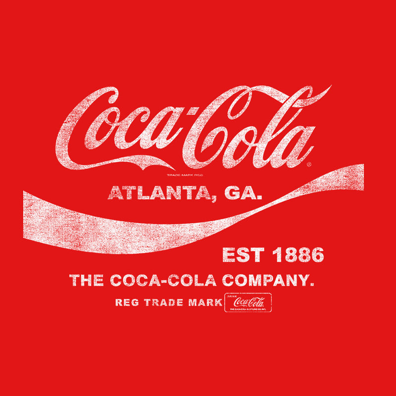 Coca Cola Drink 1886 White Text Men's T-Shirt - POD66