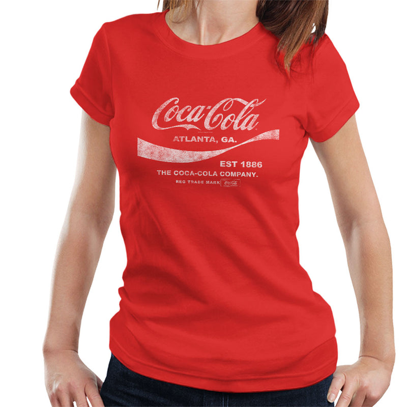Coca Cola Drink 1886 Women's T-Shirt