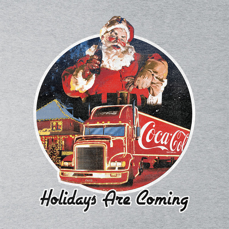 Coca Cola Christmas Holidays Are Coming Women's T-Shirt - POD66