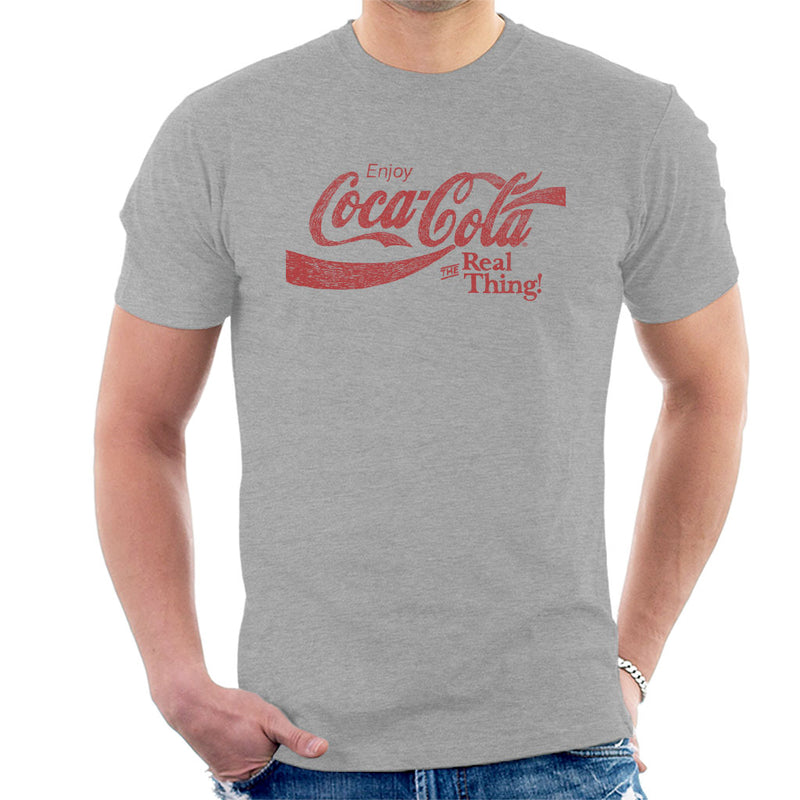 Coca Cola The Real Thing Red Text - POD66