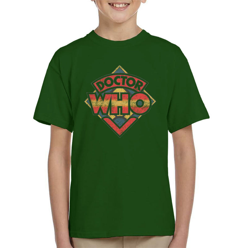 Doctor Who 70s Logo Kid's T-Shirt - POD66