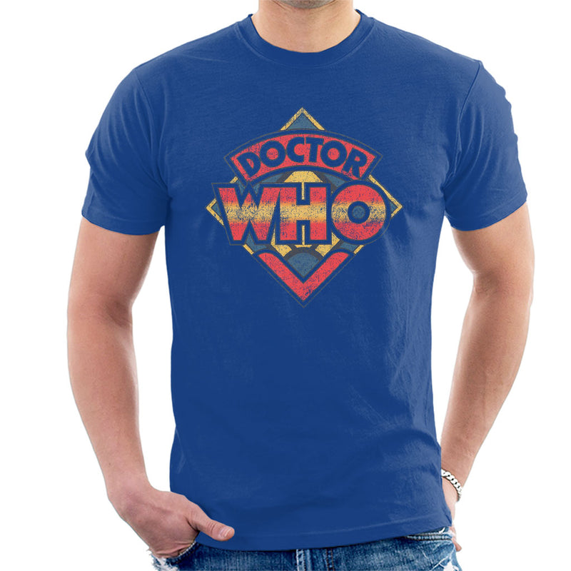 Doctor Who 70s Logo Men's T-Shirt - POD66