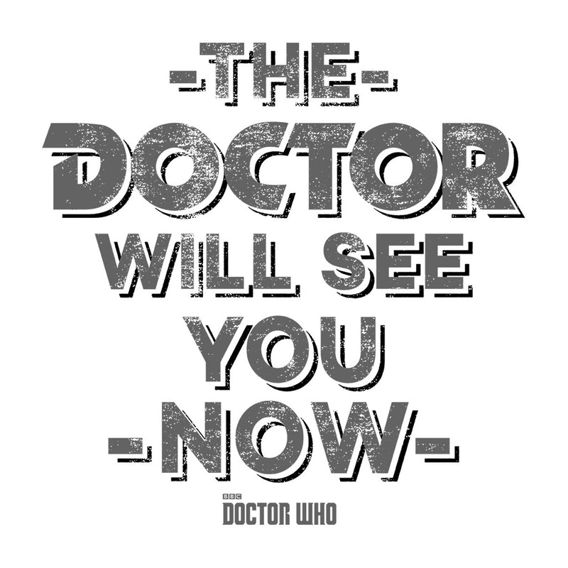 Doctor Who The Doctor Will See You Now Men's T-Shirt - POD66