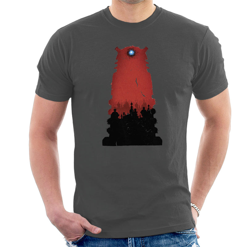 Doctor Who Shadowfield Dalek Men's T-Shirt - POD66