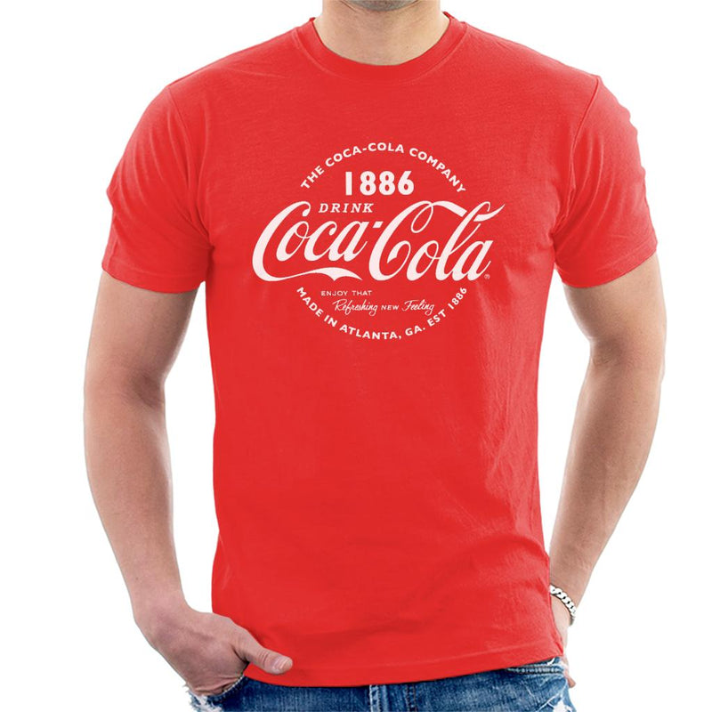 Coca Cola Retro Logo White Text - POD66