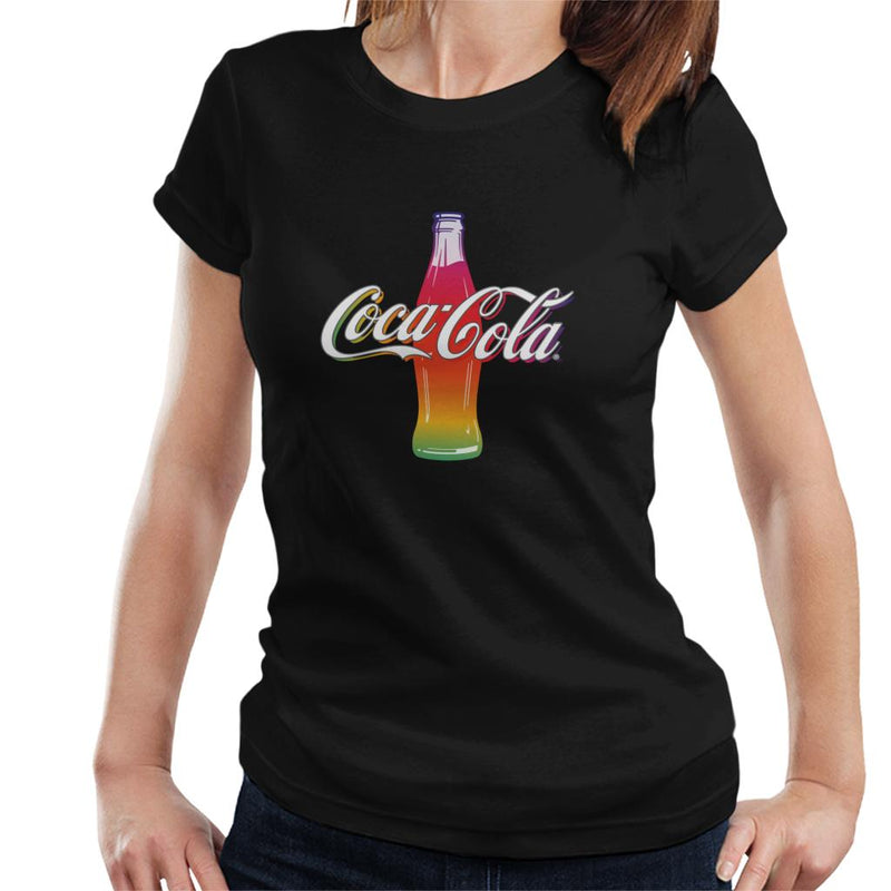 Coca Cola Multi Colour Bottle Women's T-Shirt